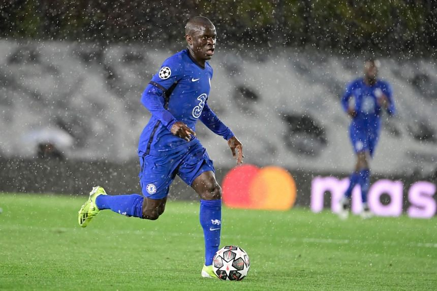 N'Golo Kante has been ever present in Chelsea's midfield this season, making 43 appearances in all competitions.