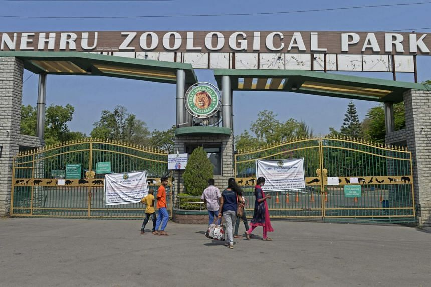 The Nehru Zoological Park has now been closed.