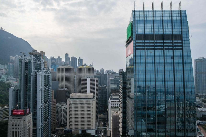 Rents in Hong Kong dropped to HK$33.60 (S$5.77) per square foot in the first quarter.