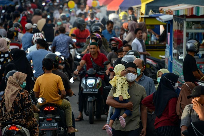 Indonesia's economy suffered its first full-year GDP contraction in over two decades in 2020.