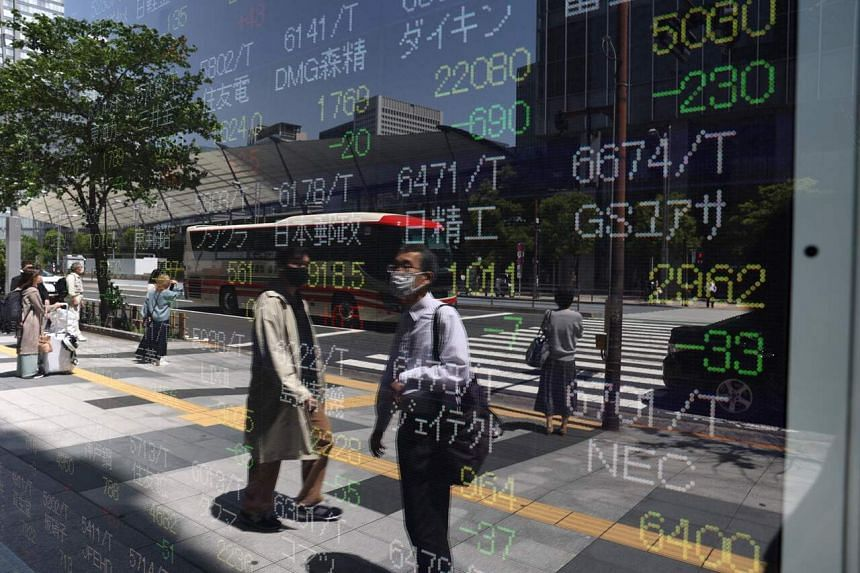 Asian markets started on a negative note, though some bounced back as the morning wore on.