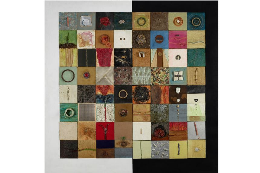Works To Catch: Variations On I-Ching (1982-1992) by Chng Seok Tin