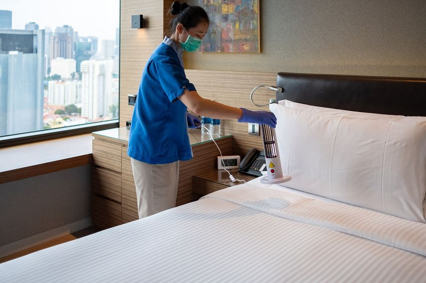 Government agencies are engaging with hotels to build up sufficient capacity.