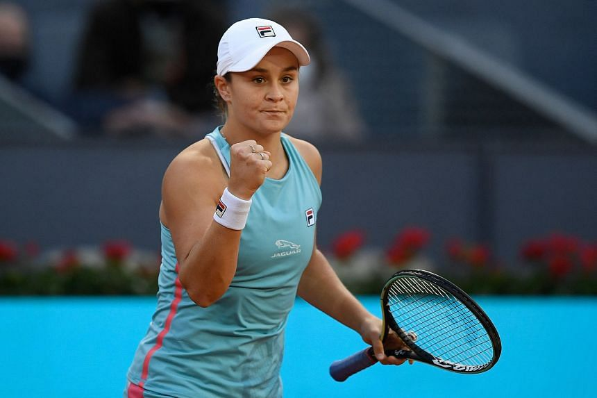 Ashleigh Barty is chasing her fourth singles title of the year after her triumph in Stuttgart.