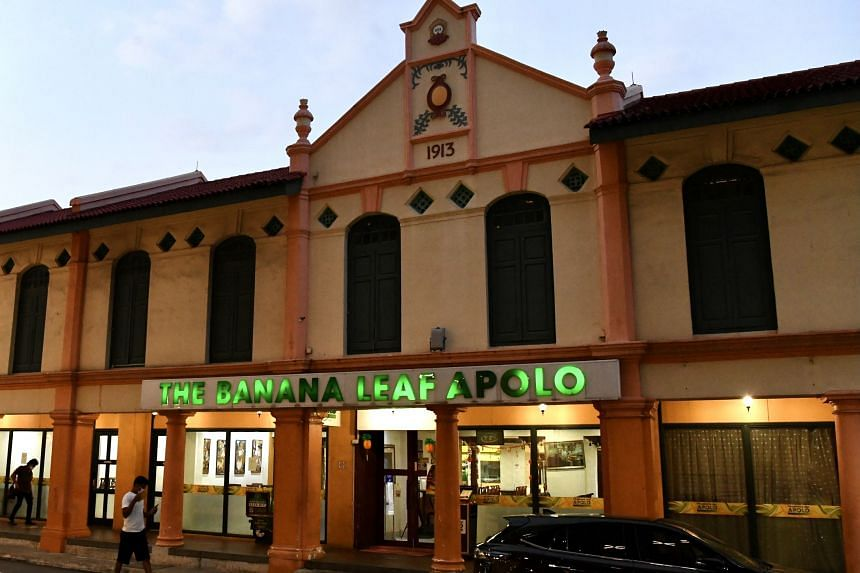 About 40 people attended the party on the second floor of The Banana Leaf Apolo.