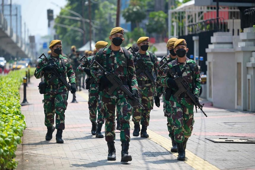 """The military deployment to the region comes after Indonesia recently designated armed Papuan separatists as """"terrorists""""."""