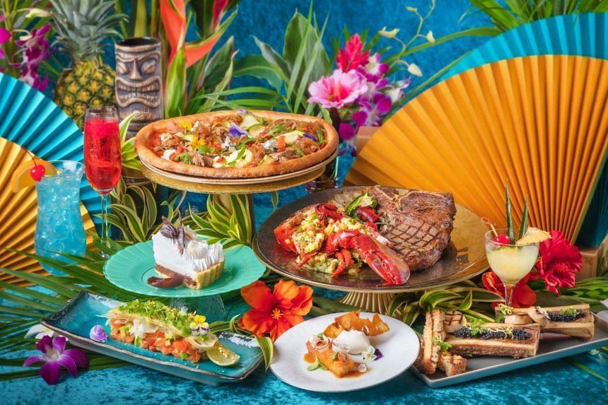 At Fratelli, enjoy Hawaiian inspired dishes.