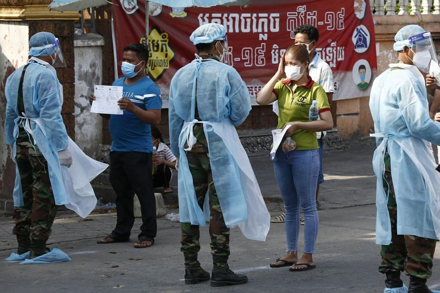 Infections in Cambodia have climbed from about 500 in late February to 17,621 now, with 114 deaths.