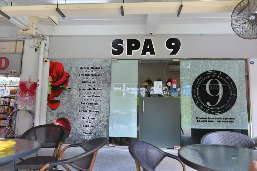 A 22-year-old female Malaysia national, who works as a spa therapist at Spa 9 at 41 Holland Drive, had tested positive for Covid-19.