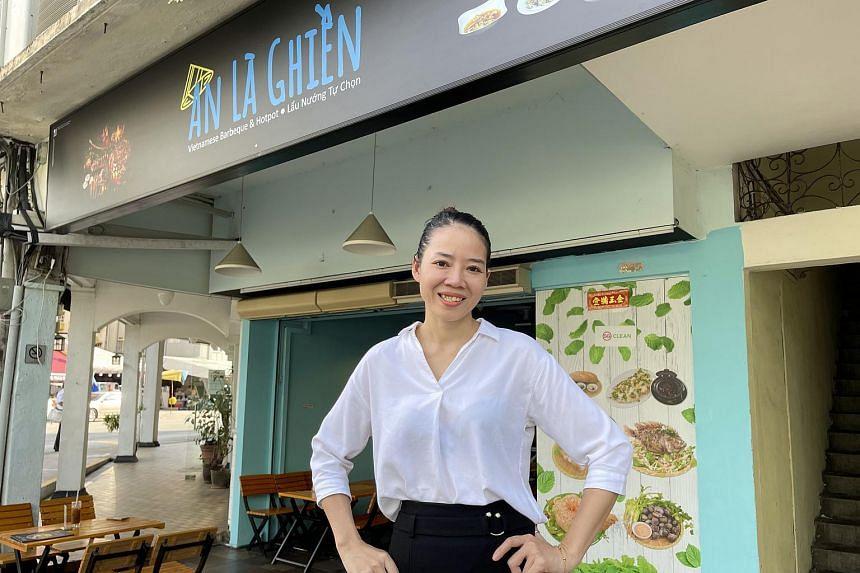 Ms Tran Thi Ngot Giau opened An La Ghien, a Vietnamese eatery in Lorong 27 Geylang, in December 2019.