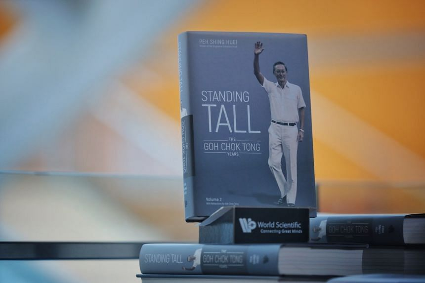 The new book takes a thematic approach to detailing key moments in Mr Goh's career as prime minister.