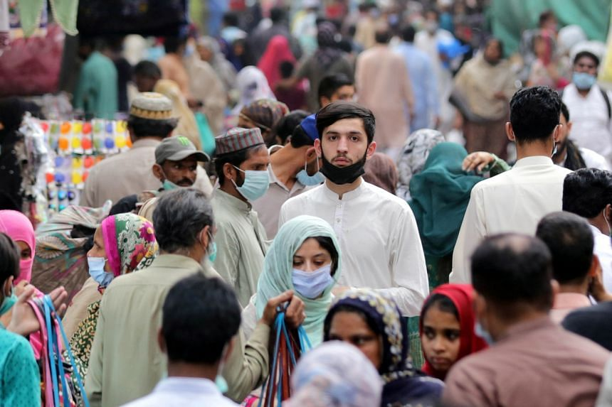 Pakistan saw a spike in cases in the weeks after the celebrations in 2020.