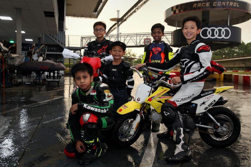 (From left) Mika Rendyno, Muhammad Aniq, Haider Aariz, Jaden Immanuel, and Xu Zi Hao,
