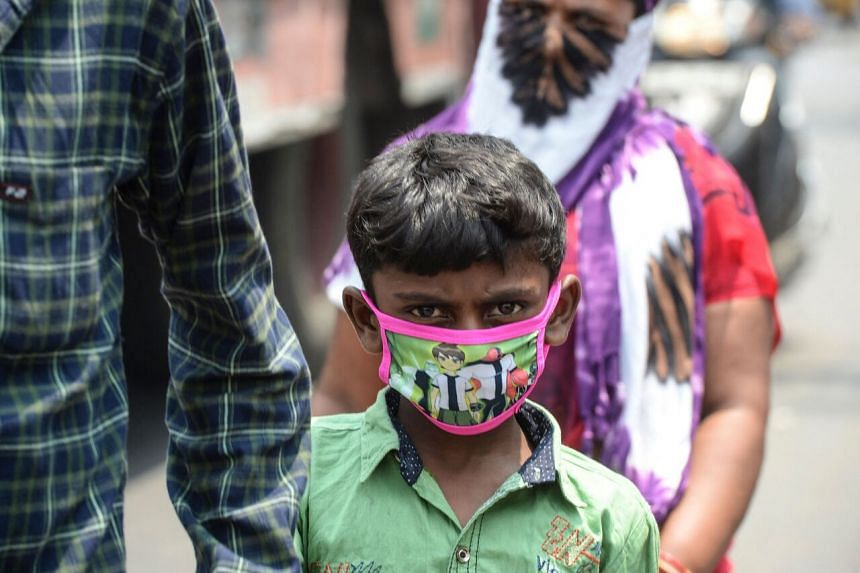 As entire families are infected with Covid-19 in the second wave of the pandemic in India, there are increasing reports of children orphaned by the disease.