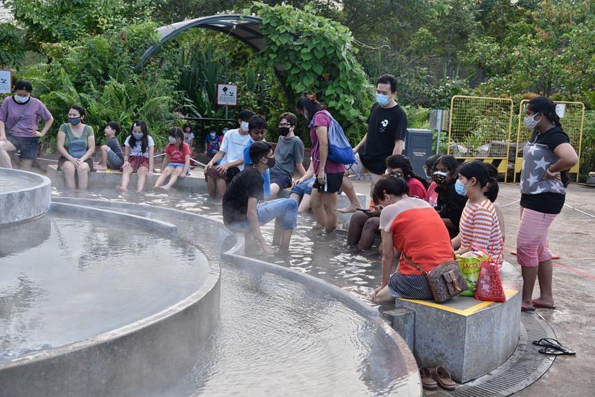 The hot spring stations at Sembawang Hot Spring Park will be closed from Saturday (May 8) to May 30.
