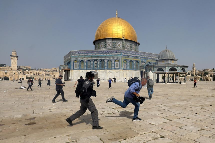 Al-Aqsa has been a focal point of violence in Jerusalem throughout Ramadan.