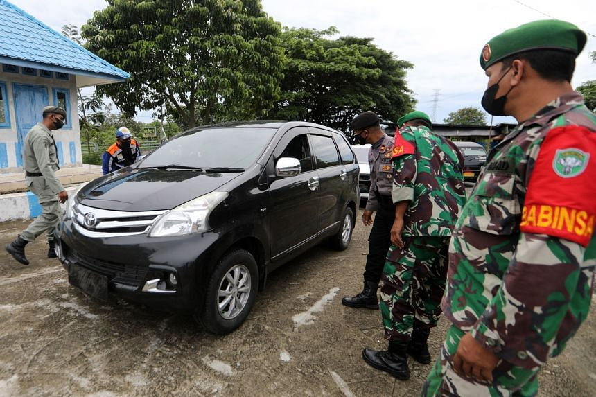 A joint force of some 155,000 police, military, public order and transport ministry personnel are manning the checkpoints.