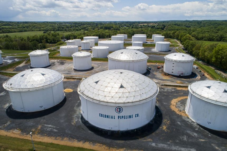 The surges in oil and gasoline came after Colonial Pipeline was forced to halt operations because of a cyberattack.