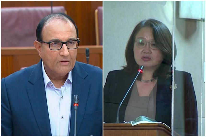 Former minister Khaw Boon Wan has a proven track record for taking on difficult issues, said Minister for Communications and Information S. Iswaran in reply to WP chairman Sylvia Lim, on May 10, 2021.