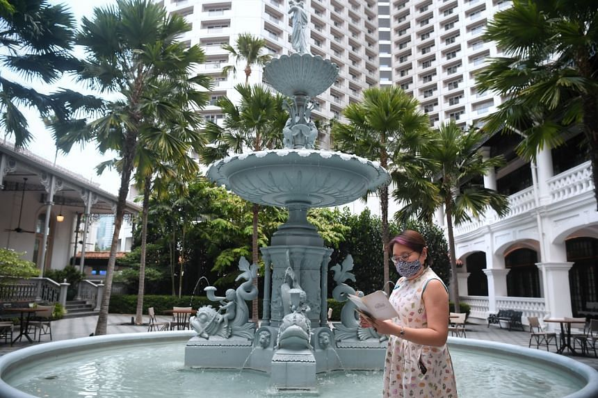 Embark on a treasure hunt at Raffles Singapore, one of the artsy staycation packages currently being offered.