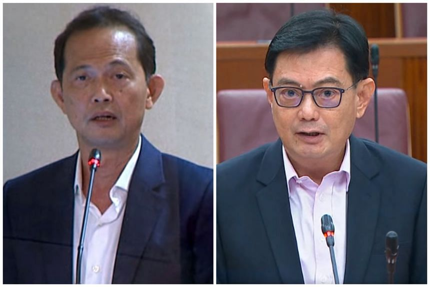 Non-Constituency MP Leong Mun Wai's remarks drew a strong rebuttal from Deputy Prime Minister and Finance Minister Heng Swee Keat.