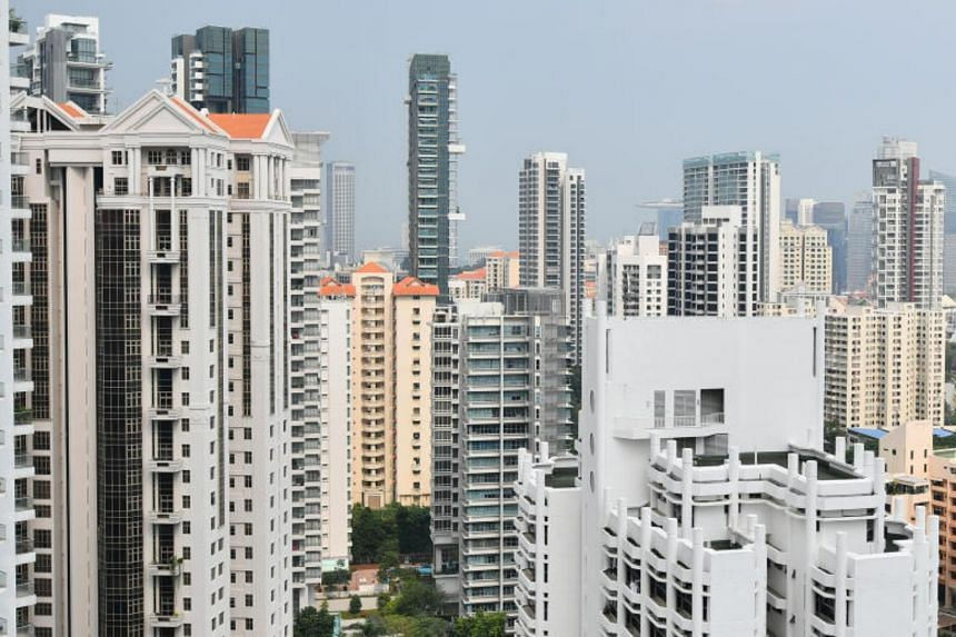 Year on year, private home resale prices rose 5.8 per cent over April last year.
