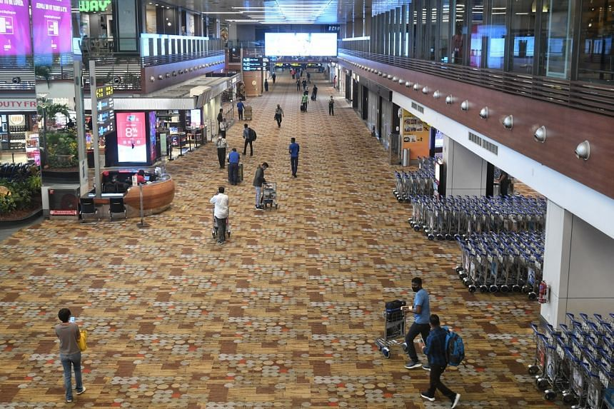 Before Covid-19, Singapore had 200,000 travellers going through Changi Airport every day.
