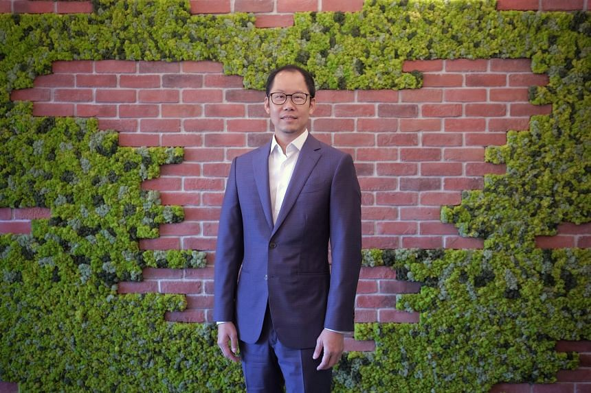 Mr Eric Lim was appointed as the bank's first dedicated chief sustainability officer in April.