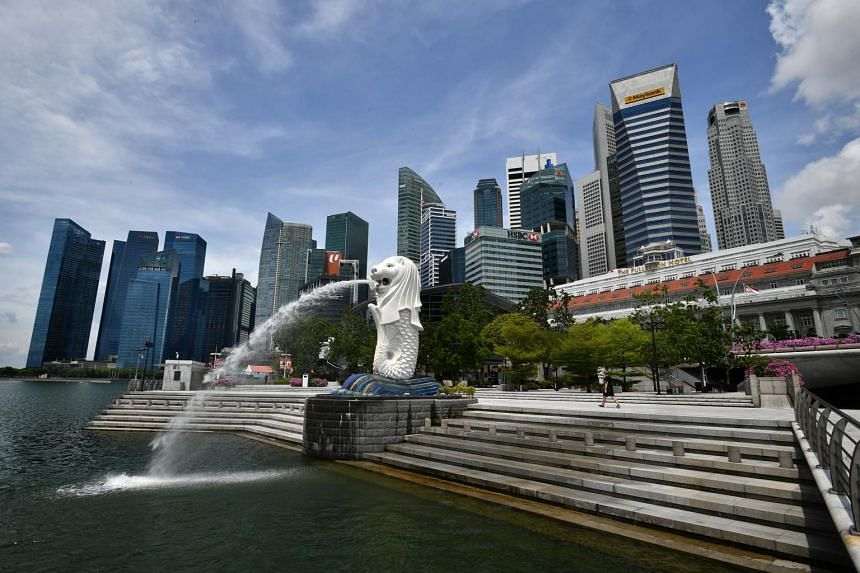 The IMF said that Singapore's recovery is not without risk and potential upside.