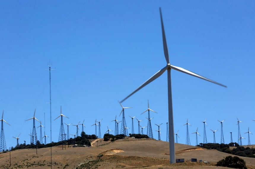 New wind turbine installation nearly doubled last year to 114 GW.