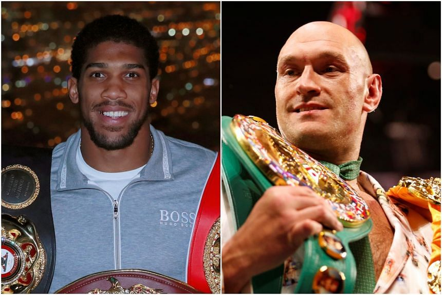 Anthony Joshua and Tyson Fury have both been active on social media recently, trading barbs.