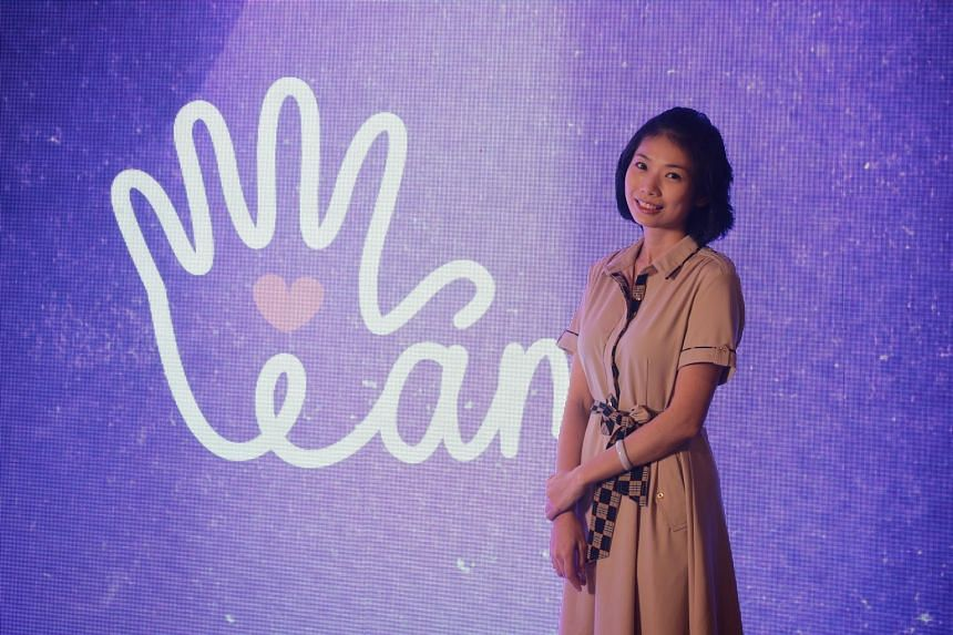 Cancer survivor Summer Ng, an ambassador with the Singapore Alliance for Active Action Against Human Papillomavirus, at the launch of the I Am Campaign on Tuesday. The campaign, led by The Royal Commonwealth Society of Singapore, aims to raise awaren