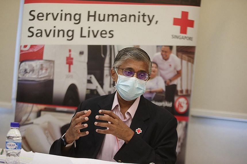 Mr Benjamin William, chief executive of the Singapore Red Cross, noted that a surge in global demand has caused a shortage of medical supplies, and said the SRC is grateful for the outpouring of support from individuals and organisations over the pas