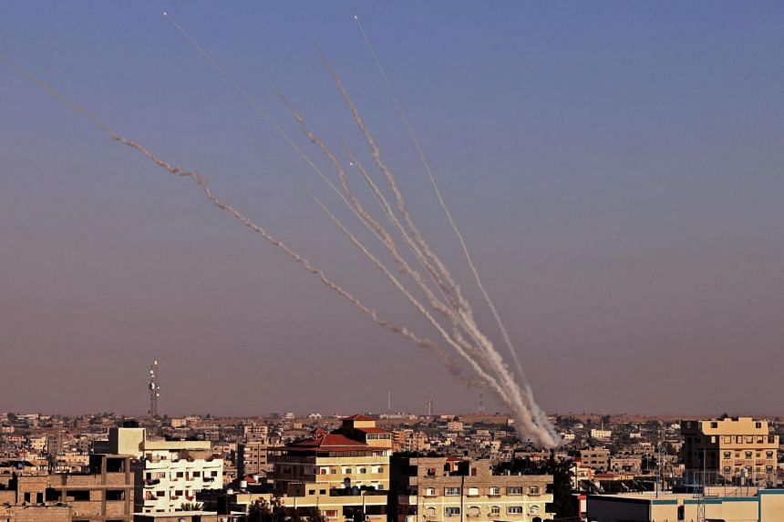 Hamas has fired around 1,500 rockets from Gaza into Israeli territory since hostilities escalated on May 10.