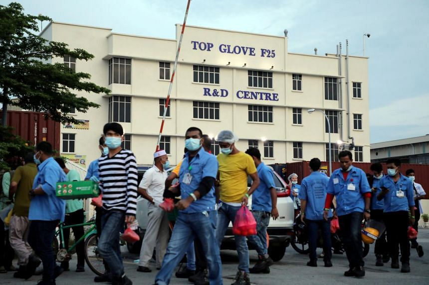 US Customs prohibited the import of Top Glove products last year, saying it had found reasonable evidence of forced labour.