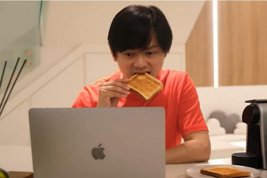 Dennis Chew posted a video on YouTube showing his newly renovated home.