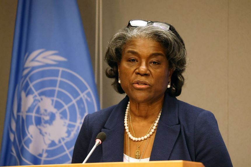 US Ambassador to the United Nations Linda Thomas-Greenfield.