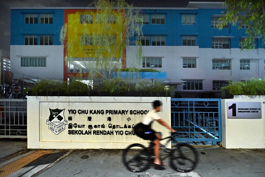 The school said the pupil was a close contact of an infected household member.