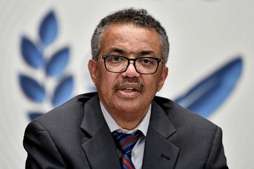 World Health Organization's director-general Tedros Adhanom Ghebreyesus said the crisis in India was a major concern.