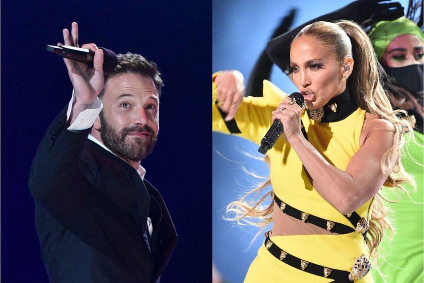 Actor Ben Affleck (left) and singer Jennifer Lopez (right) took a trip together recently.