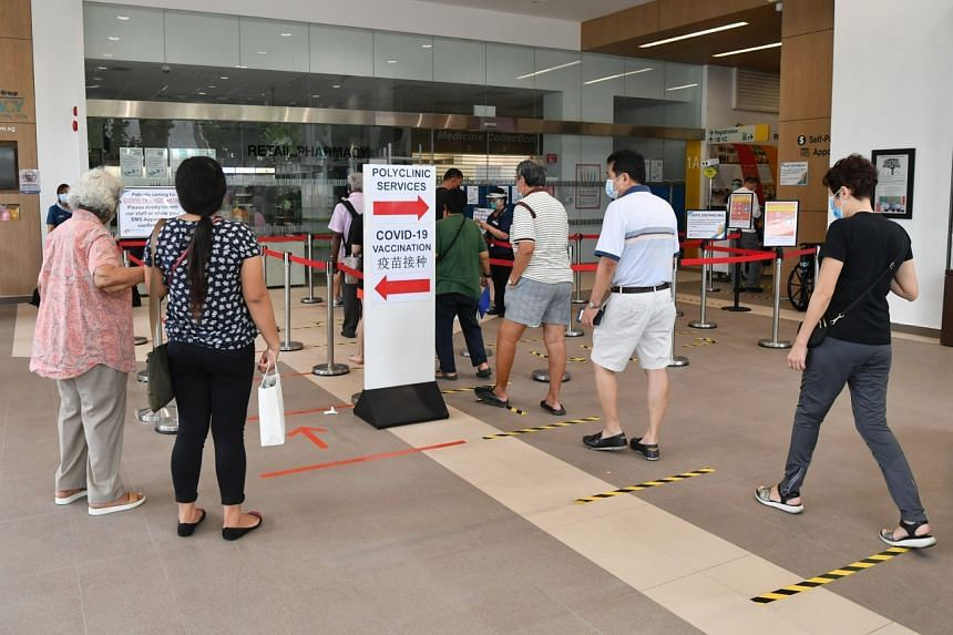 Health Minister Gan Kim Yong said that it is important to see a doctor and get tested once a symptom appears.
