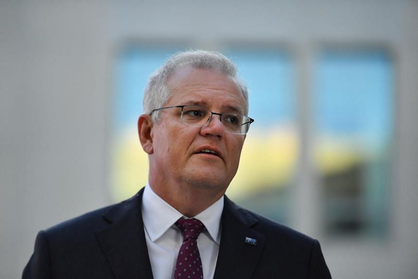 """Prime Minister Scott Morrison doubled down on comments that Australia's Taiwan policy was guided by China's """"one country, two systems"""" framework."""