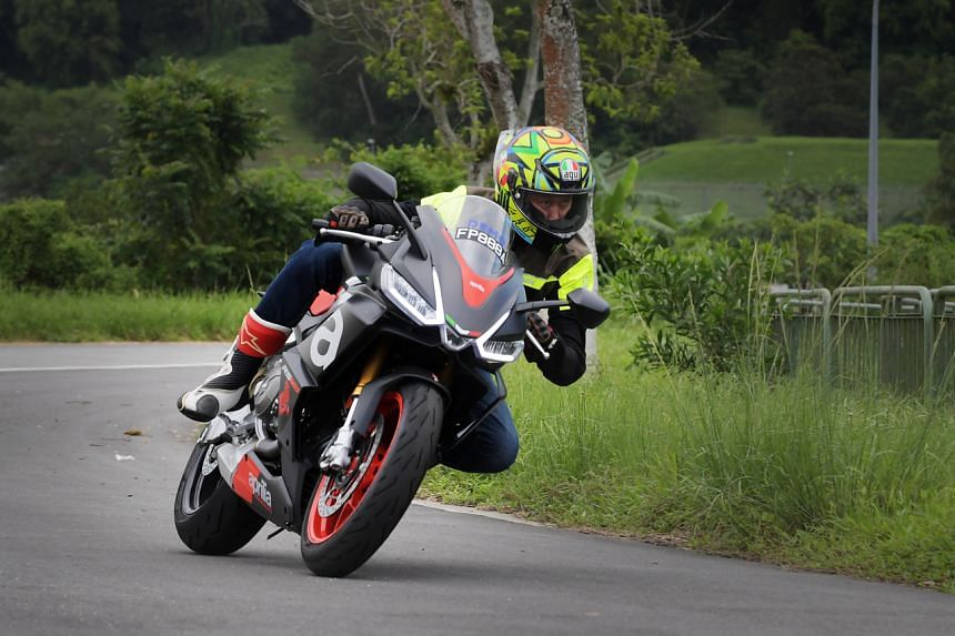 The Aprilia RS 660 is a middle-weight sports bike with a 659cc parallel-twin engine.