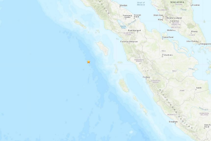 The quake was at a depth of 10km, the GFZ German Research Center for Geosciences said.