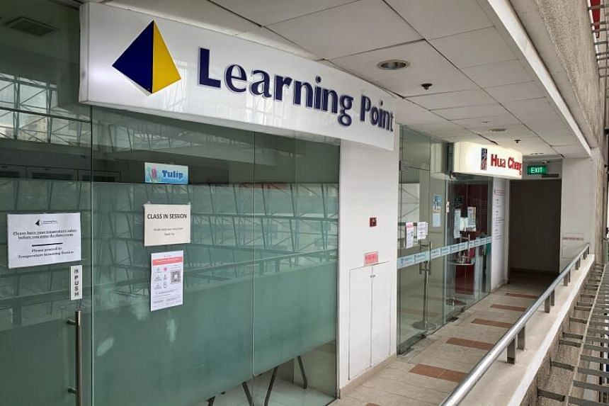 The tuition teacher at Learning Point in Parkway was confirmed to have the infection on May 12, 2021.