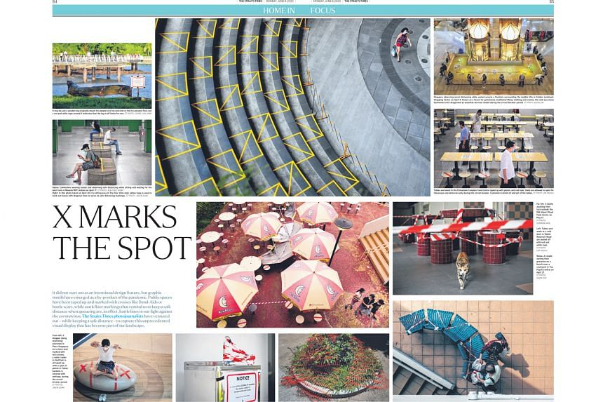 The Straits Times' photo series capturing Singapore's public spaces during the pandemic is one of the award winners at the Best of Print News Design competition.