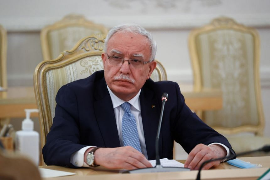 Palestinian Foreign Minister Riyad Al-Maliki criticised countries that moved to normalise relations with Israel.