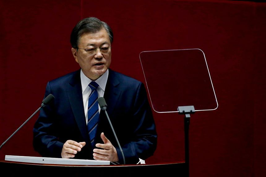 South Korean President Moon Jae-in is unlikely to get much movement from a US seemingly willing to tolerate the current status quo.