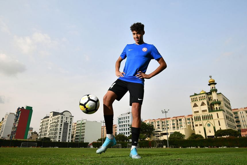 Ilhan Fandi is set to become the latest son of Singapore legend Fandi Ahmad to earn a national cap.
