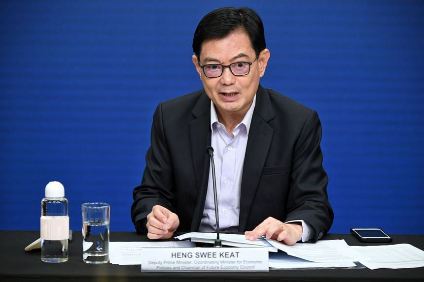 Deputy Prime Minister Heng Swee Keat said jobs and skills transformation will be a key part of the task force's work.